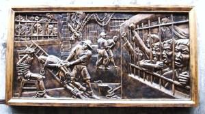 Relief-of-the-Vietnam-War-at-Hoa-Lo-Prison-aka-Hanoi-Hilton1